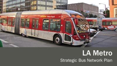 Los Angeles Strategic Bus Network Plan