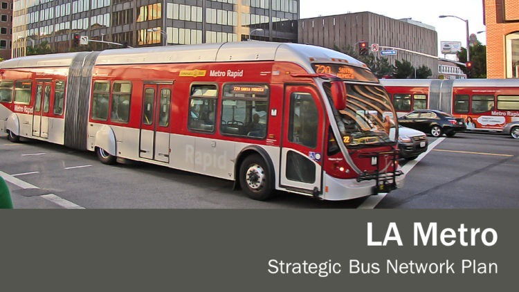 Los Angeles Strategic Bus Network Plan