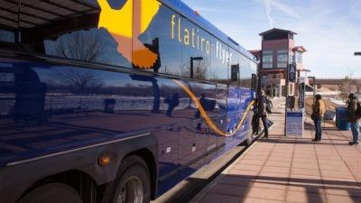 US 36 BRT Flatiron Flyer